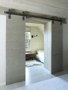 sliding doors - never mind the doors, how about the minimal room inside