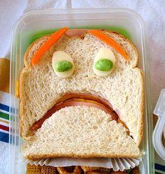 Terrified Sandwich  http://www.toxel.com/inspiration/2008/06/16/creative-food-art/#