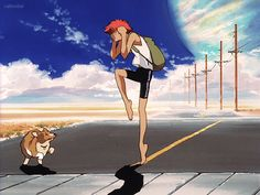 Let's be honest, Edward and Ein were the best characters of Cowboy Bebop , Edward Cowboy Bebop, Cowboy Bebop Tattoo, Cowboy Bepop, Cowboy Bebop Anime, Gifs, See You Space Cowboy, Samurai, Arte Cyberpunk, Movies