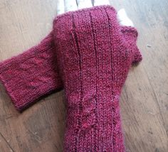 Ravelry: Half Knit Mitts pattern by Shelley Carr