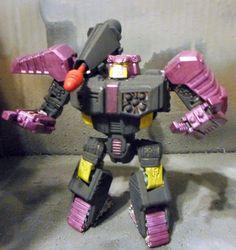 CUSTOM TRANSFORMERS GENERATIONS UNIVERSE TANKOR/ BEAST WARS SCORPONOK #Hasbro