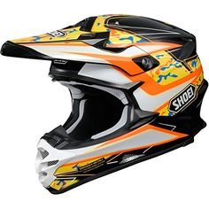 Shoei Turmoil VFXW MXOffRoadDirt Bike Motorcycle Helmet  TC8  Medium ** To view further for this item, visit the image link. (This is an affiliate link)