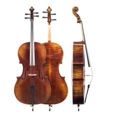 The Amati Model 90 Cello Outfit is the most durable plywood cello that Amati offers.