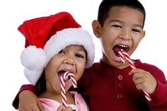 Did you know that candy canes used to be straight?  They haven't always had that red stripe, either! Ever wonder why they look the way they do now?