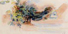 ARTISTIC QUIBBLE.........Pierre Auguste Renoir Landscape