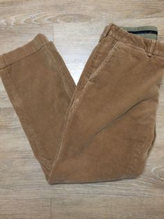 Polo Ralph Lauren Men's Preston Corduroy Pants 34x32 Actual 30 Inseam #PoloRalphLauren #Corduroys
