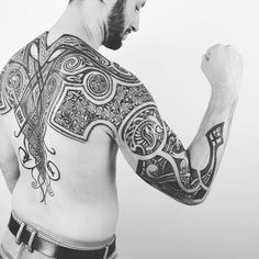 Image result for masculine neo-norse tattoo