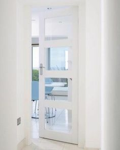 Charmant White Shaker 4L Clear Glazed. Interior Glazed DoorsBathroom ...