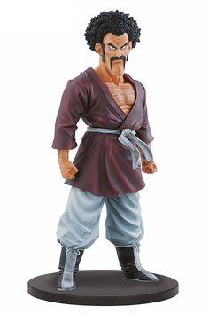 Estatua Mr.Satan, 19 cm, Dragon Ball. Resolution of Soldiers, Banpresto  Figura de 19 cm, del personaje de Mr.Satan, pertenecientes a la serie Dragon Ball, creada por Banpresto.