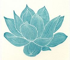 lotus flower • via the shape of the journey