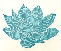 lotus flower • via the shape of the journey