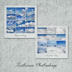 Realistic Sky Sky Overlays Photography sky White Clouds   Etsy Sky Photoshop, Photoshop Overlays, Photoshop Elements, Picture Editing Software, Editing Pictures, White Clouds, Sky And Clouds, Sky Digital, Cloud Photos