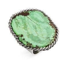 Liz Larios Jewelry Turquoise Ring, found on polyvore.com