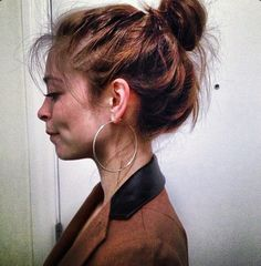Kristin Kreuk (the bun)