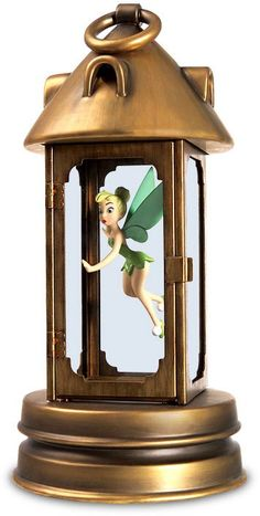 WDCC Disney Classics Peter Pan Tinker Bell In Lantern Pixie In Peril   1236764 $295.00