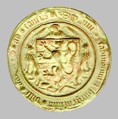 Seal of Bruges // Medieval Institute // Hesburgh Libraries - University of Notre Dame