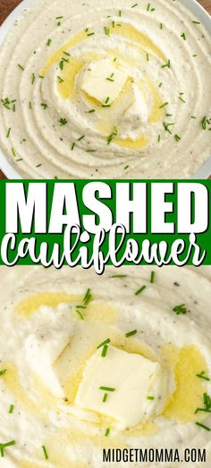 Home Made Doggy Foodstuff FAQ's And Ideas Mashed Cauliflower. Velvety Buttery Garlic Mashed Cauliflower That Is The Perfect Low Carb Side Dish. The Best Way To Make Creamy And Delicious Low-Carb Option Instead Of Mashed Potatoes. Garlic Mashed Cauliflower, Creamy Mashed Potatoes, Low Carb Breakfast, Breakfast Ideas, Low Carb Dinner Recipes, Keto Recipes, Low Carb Side Dishes, Food Dishes, The Best