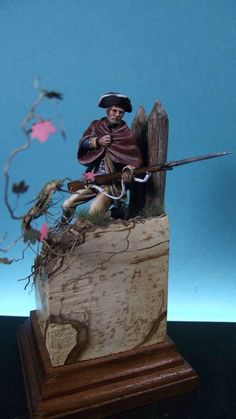 MINUET-MAN Colonial America, Scale Models, Statue Of Liberty, Knight, Soldiers, Modeling, Military, Art, Dioramas