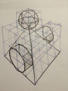 Beginners Drawing - Industrial Drawing