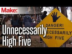 Hit this Unnecessarily High Five – Maker Faire Maker Faire, High Five, My Dad, Make Me Smile, Dads, Youtube, Projects, How To Make, Fathers