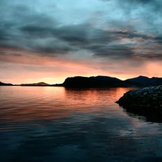 Hiking and backpacking Norway was amazing! Alesund gifted us this beautiful sunrise on our first morning