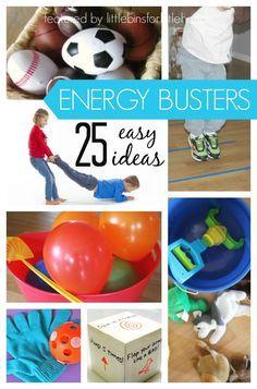 25 Indoor Gross Motor Energy Busters for Kids