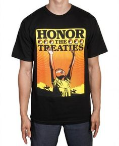 Obey - Honor the Treaties T-Shirt - $23