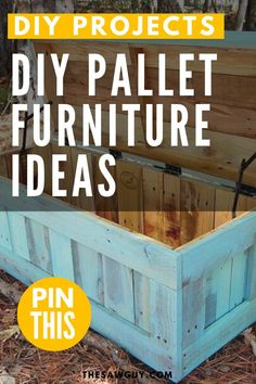 Furnishing or refreshing your space? Check out our list of DIY furniture project ideas for some woodworking inspiration. From outdoor lounge chairs to coffee tables, we have something for every room in your house. Click on!  #thesawguy #furnitureideas #palletfurniture #diyfurniture #woodworkingprojects  #easywoodworkingprojects Diy Pallet Furniture, Diy Furniture Projects, Pallet Projects, Diy Projects, Project Ideas, Woodworking Inspiration, Easy Woodworking Projects, Handmade Home Decor, Diy Home Decor