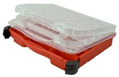 Plano Molding 5231 Double Cover Stow N Go Organizer, Porche Red at http://suliaszone.com/plano-molding-5231-double-cover-stow-n-go-organizer-porche-red/