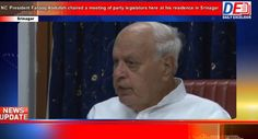NC President Farooq Abdullah chaired a meeting of party legislators here...
