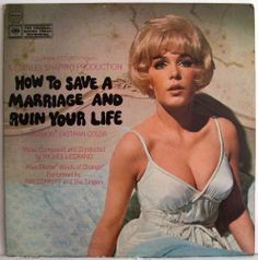 How To Save A Marriage And Ruin Your Life DEMO LP Stella Stevens FilmScoreSoundtrack