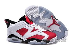 "http://www.yesnike.com/big-discount-66-off-air-jordan-6-retro-low-carmine-cheap-for-sale.html BIG DISCOUNT! 66% OFF! AIR JORDAN 6 RETRO LOW ""CARMINE"" CHEAP FOR SALE Only $95.00 , Free Shipping!"
