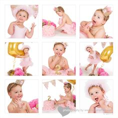Get Messy with Our Birthday Cake Smash Photography Birthday Cake smash photography sessions started in America a few years ago and are becoming Cake Smash Photography, Image Photography, Image Collage, Birthday Cake Smash, Disney Princess, Studio, Ideas, Children, Studios