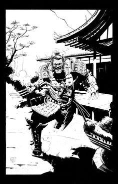 Astonishing X — westcoastavengers:   Samurai Wolverine   Stephen...