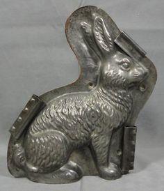 Easter Bunny chocolate mold.