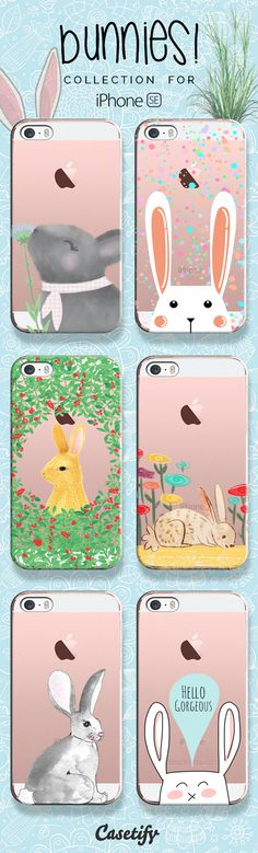 Keep calm and love bunnies! Take a look at these designs featuring bunnies on our site now! https://www.casetify.com/artworks/SPBEuwymJc | @casetify