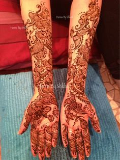 Bridal Mehendi Bottom part