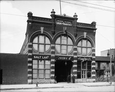 Salt Lake Livery and Transfer Co. Victorian Photos, Lake Art, April 14, Slc, Back In Time, Horse Head, Salt Lake City, Wizard Of Oz, Historic Homes
