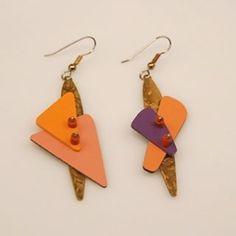#etsyseller #handcraftedjewelry #statementjewelry #earrings