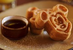 Mickey Mouse Waffles....Sullivan Family FAV.......my nouth is watering! Can't wait!!