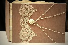 Wedding Guestbook Alternative Photobook Memory Book by ArtbyChapin, $175.00