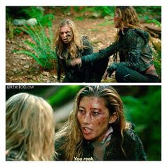 "#The100 2x04 ""Many Happy Returns"" - Anya and Clarke"