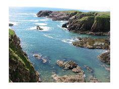 """Scotland's Coastal Trail"" -- The trail includes the towns of Aberdeen, Balmedie, Newburgh, Cruden Bay, Peterhead, Fraserburgh, Pennan, MacDuff, Banff, Portsoy, Cullen, Buckie, Spey Bay, Lossiemouth, Burghead, and Findhorn."