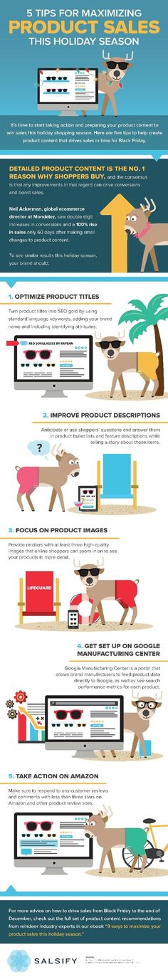 5 Tips for Maximizing Product Sales This Holiday Season #Infographic #Sales http://itz-my.com
