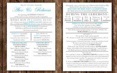 wedding program country wedding programs funny wedding programs funny wedding invitations wedding