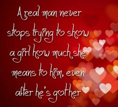 real man love