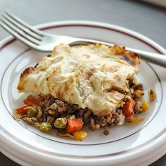 When the temperature takes a permanent nosedive and fall is starting to look a lot more like winter, shepherd's pie is one of the first things that I crave. One enormous square of this casserole, with its blanket of mashed potatoes and that savory meat-and-vegetable filling, sends a sigh of contentment through my whole body. One casserole makes more than enough for my household of two, so I can look forward to comfort meals all week long.