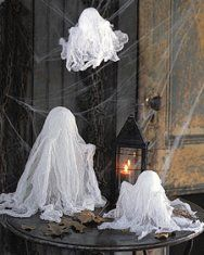 Cheesecloth Spirits | Step-by-Step | DIY Craft How To's and Instructions| Martha Stewart