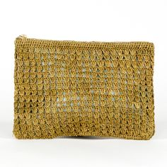 Pochette River medium Thé ajourée by Sans-Arcidet Collection | Sans-Arcidet Collection