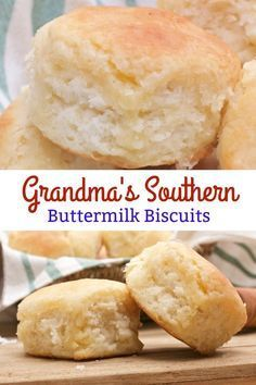 I love my Grandma Barb's Southern Buttermilk Biscuits! #biscuits #biscuitrecipes #buttermilkbiscuits